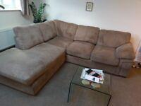 Cargo corner sofa