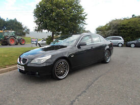 BMW 525 SE TD DIESEL AUTOMATIC SALOON NEW SHAPE 2004 BLACK BARGAIN 2350 NO OFFERS *LOOK* PX/DELIVERY