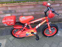 Boys Fire Chief Rescue Bicycle