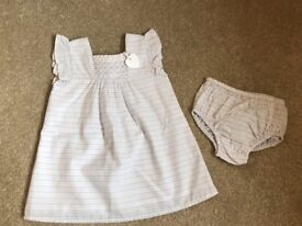 White Company Smocked Dress And Pants