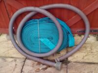 2inch layflat hose and suction pipe