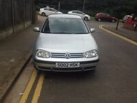 VW GOLF SE, 1.6 PETROL, 5 DOOR HATCHBACK, ONE YEAR MOT, ONE OWNER FROM NEW