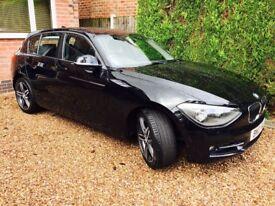 BMW 120D Sport - 2013 - 40,000 miles - Black