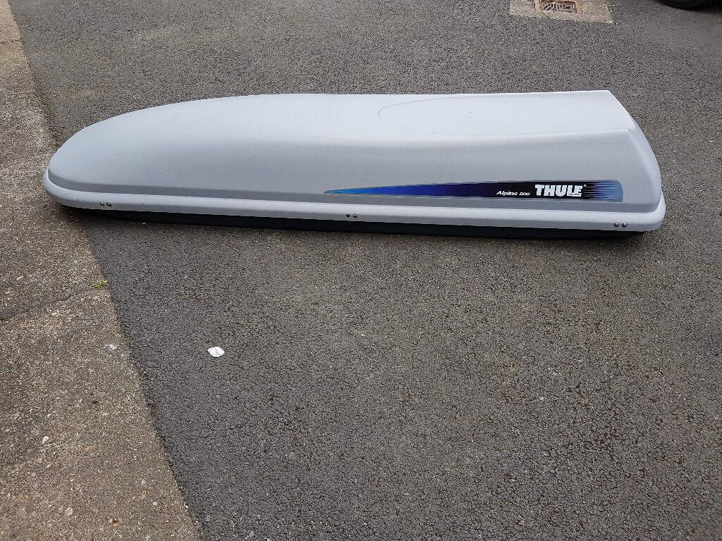 thule alpine 500 roof box in nottingham. Black Bedroom Furniture Sets. Home Design Ideas