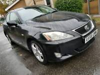 Lexus IS220 D SE 2007 fully loaded SatNav reverse Camera parking sensors low mileage 103k Long MOT