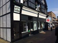 Attractive Double Fronted Retail Unit - TO LET - High Street, NORTHWICH