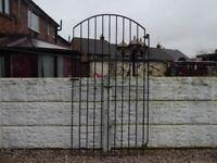 Wrought iron gate / Garden gate / Metal gate / Steel gate / Side gate / Tall gate / Entry gate /
