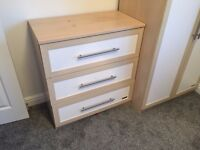 Mamas & Papas Chest of Drawers and Wardrobe