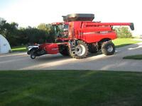 2012 CASE IH 8120 COMBINE 102  HOURS LIKE NEW LOADED