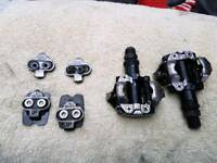Shimano SPD pedals and cleats
