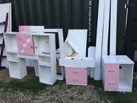 FREE GIRLS BEDROOM SUITE WITH DESK collection only includes bedside table
