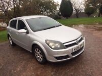 2005 VAUXHALL ASTRA 1600 CLUB TWIN PORT FANTASTIC CONDITION NEW CAM BELT WATER PUMP AND SERVICE