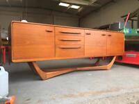 Amazing Beithcraft sideboard. Retro Gem of Mid Century design.