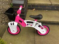 Childs balance bike. Perfect condition