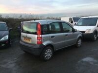 2005 FIAT PANDA IN VGCONDITION LONG MOT IDEAL CHEAP RUNABOUT ANY TRIAL WELCOME IN SILVER NICE DRIVER