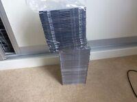 80 CD Jewel Cases Brand new