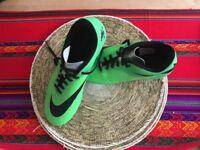 Green (Size 9) HyperVenom Football Boots