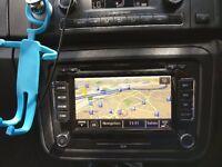 RNS510 Skoda GPS Navigator Head Unit (with code)