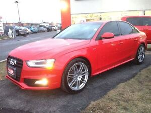 2015 Audi S4 **AWD**LEATHER**SUNROOF**NAVIGATION**
