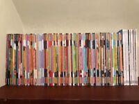 Jamie Oliver magazines - complete set