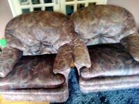 Sofa, free to collect.