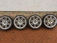 """Vw/Audi 19"""" alloys 5x100"""