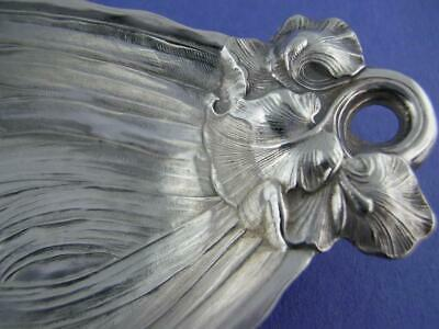Sterling DURGIN / GORHAM Bon Bon Nut Dish IRIS Art Nouveau Floral ~ $79 each Sterling Bon Bon Dish