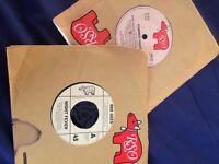 two vinyl bee gees singles