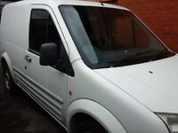 Ford transit connect 06 plate