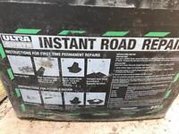 ULTRACRETE instant road repair (temp tarmac)