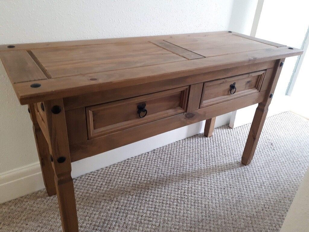 Solid Wood Console Table Hall