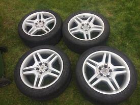 """Mercedes 18"""" AMG alloy wheels"""