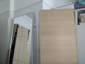 IKEA PAX Wardrobe Oak doors