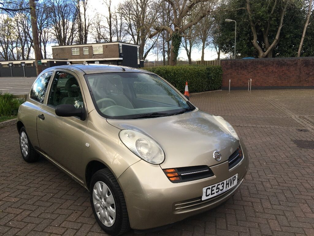 nissan micra 1 2 16v s 3dr 2 owners in gold 2003 in pontcanna cardiff gumtree. Black Bedroom Furniture Sets. Home Design Ideas