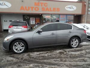 2010 Infiniti G37X Sport, AWD, LEATHER, BACKUP CAM
