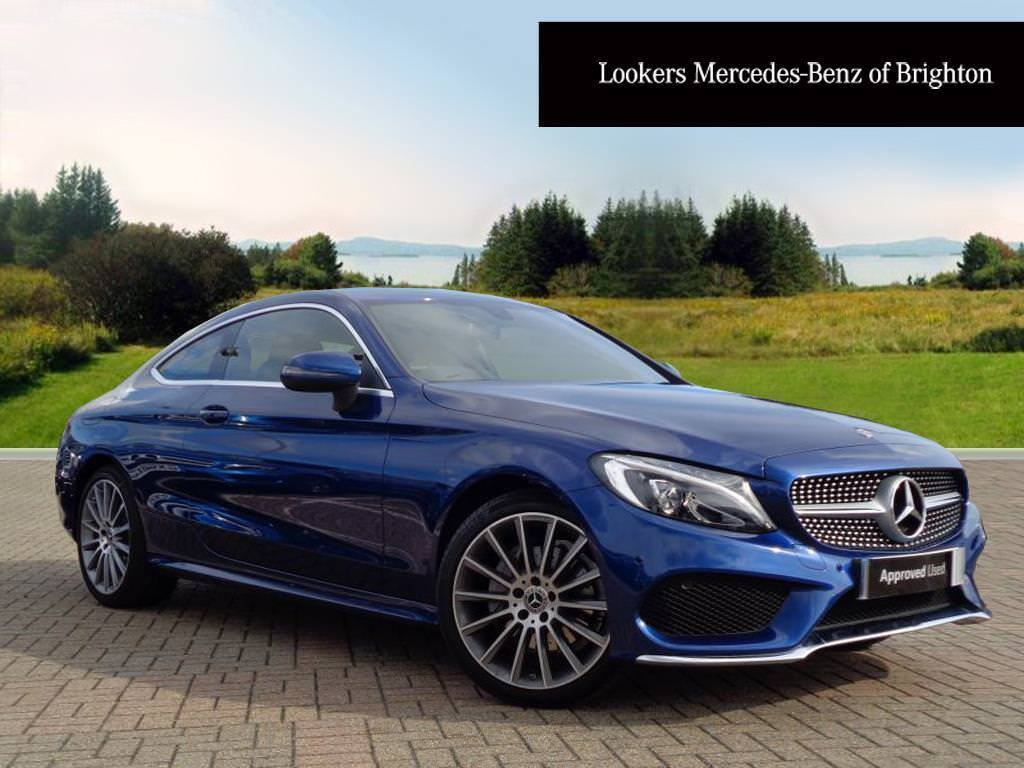 mercedes benz c class c 220 d amg line blue 2017 09 01 in portslade east sussex gumtree. Black Bedroom Furniture Sets. Home Design Ideas