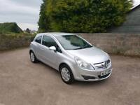 Vauxhall Corsa 1.2 Low Mileage 12 month MOT full service NEW TIMING CHAIN AND HEAD GASKET