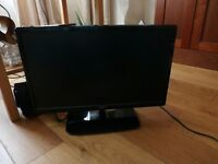 """22""""TV with built-in DVD player"""