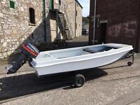 Dory Fishing Boat. Work Boat. Family Boat.