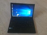 "Acer 15.6"" Dual Core Laptop, 4Gb DDR3 RAM, 500GB Hard Drive, Windows 10 Pro,"