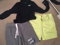 Hollister mens clothing