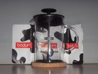 Bodum Latteo Milk Frother with Glass Handle 25cl, Black