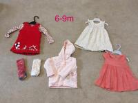 6-9m baby girl outfits