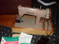 Lovely old Singer 185K in perfect working order