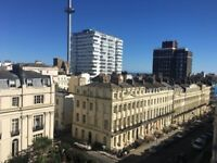Stunning Central Brighton Sea View 1 Double Bedroom Flat For Rent