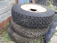 "Land Rover Wheels With 205 Conway AT 16"" all three only £45"