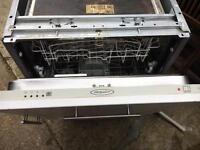 Hotpoint integrated dishwasher - needs repair