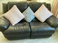 Leather Recliner Sofas 3 & 2 Seaters Great Condition