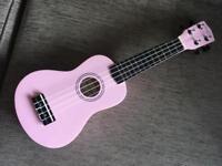 Martin Smith ukulele pink
