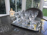 6 BRAND NEW CRYSTAL VILLEROY AND BOCH DRINKING GLASSES